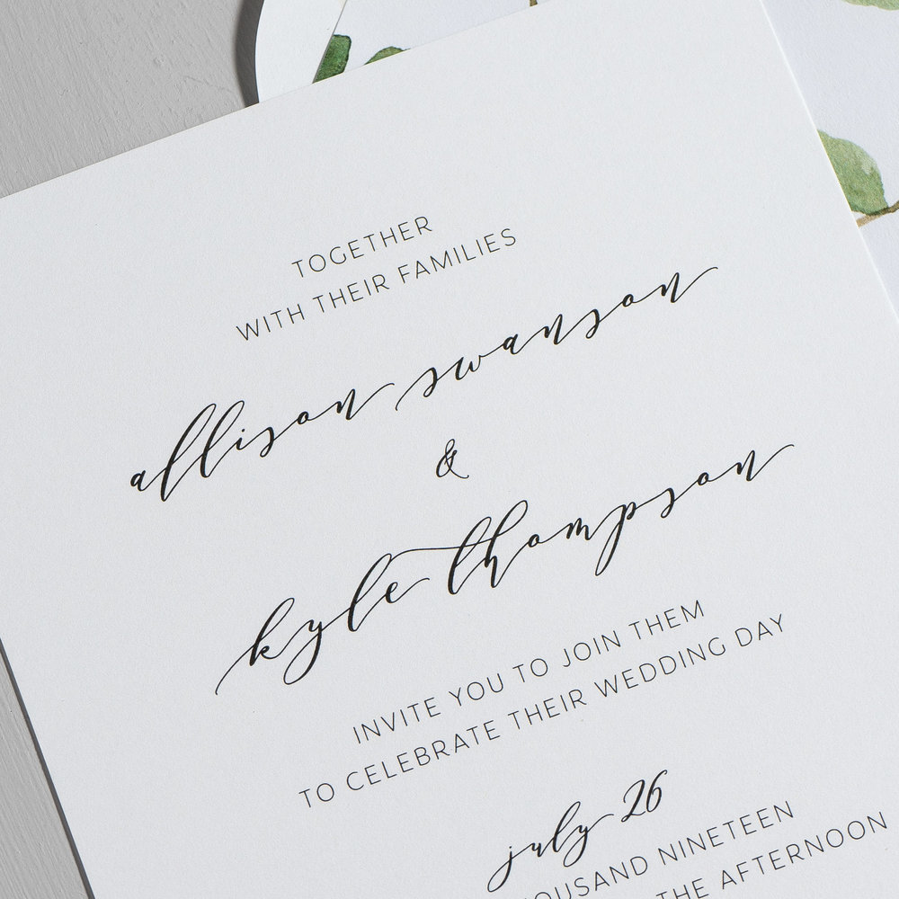 Modern Greenery V2 Wedding Invitations by Just Jurf-8b.jpg