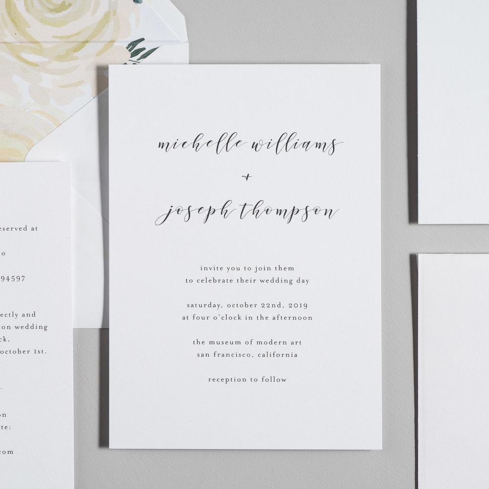 Minimalist Floral Wedding Invitations by Just Jurf-2.jpg