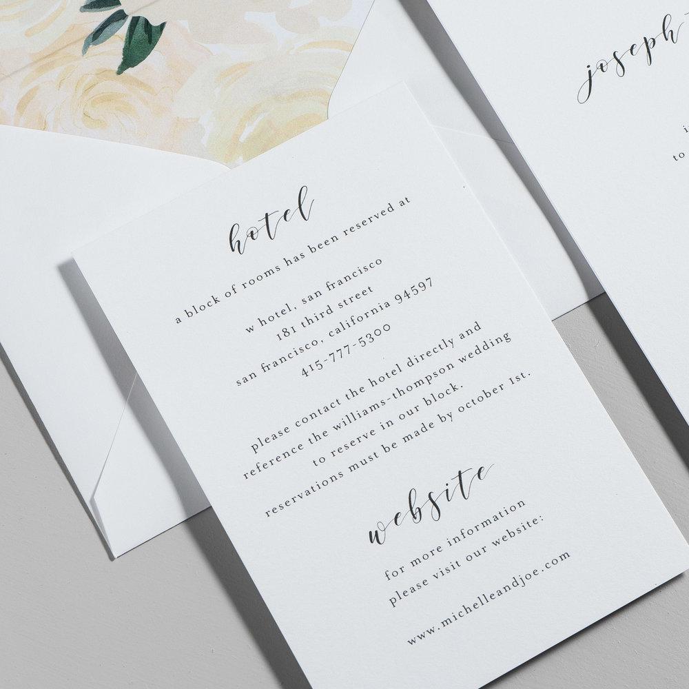 Minimalist Floral Wedding Invitations by Just Jurf-3c.jpg
