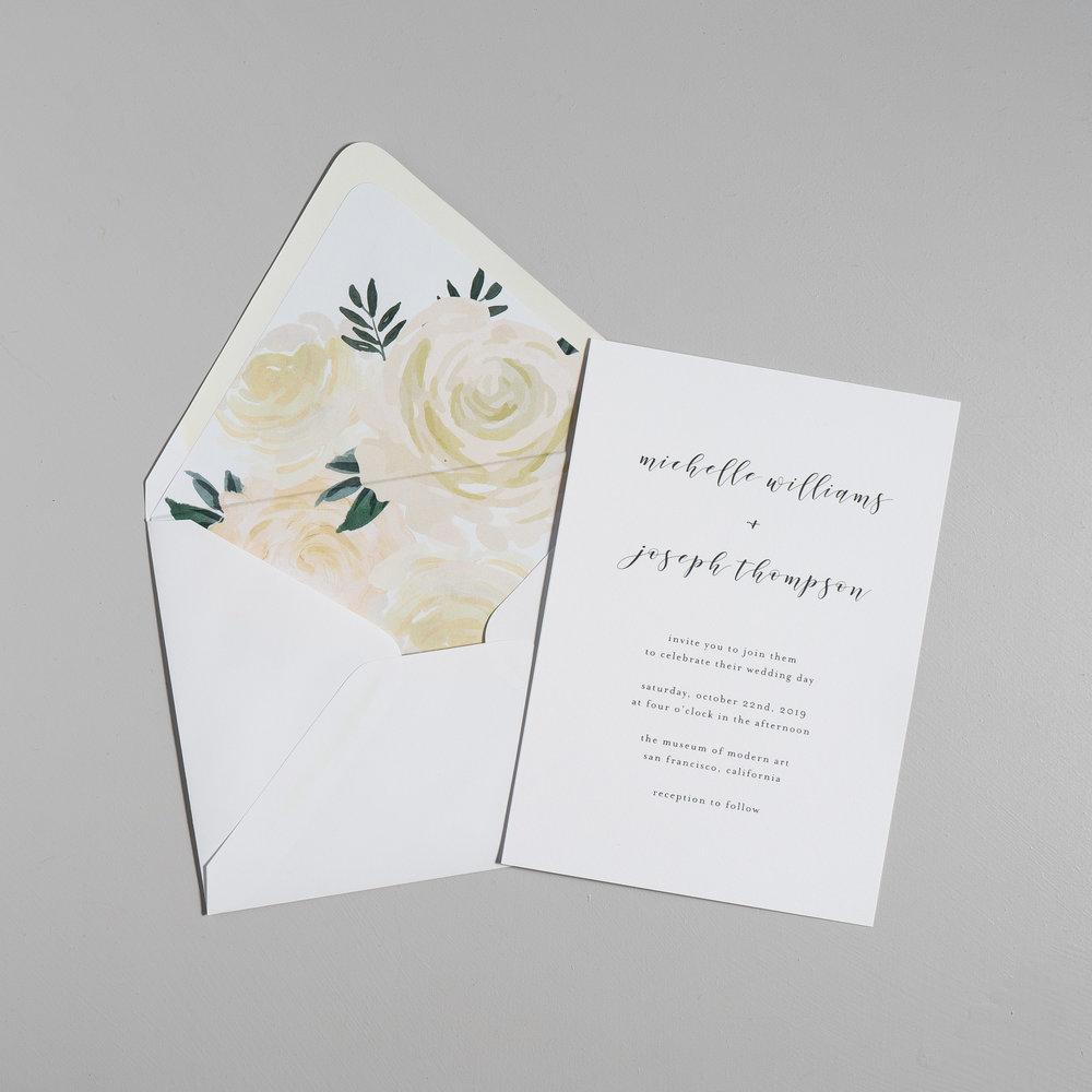 Minimalist Floral Wedding Invitations by Just Jurf-5.jpg