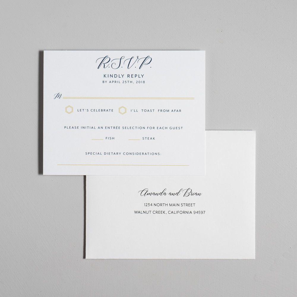 Navy, Gold, and Greenery Wedding Invitations by Just Jurf-6.jpg