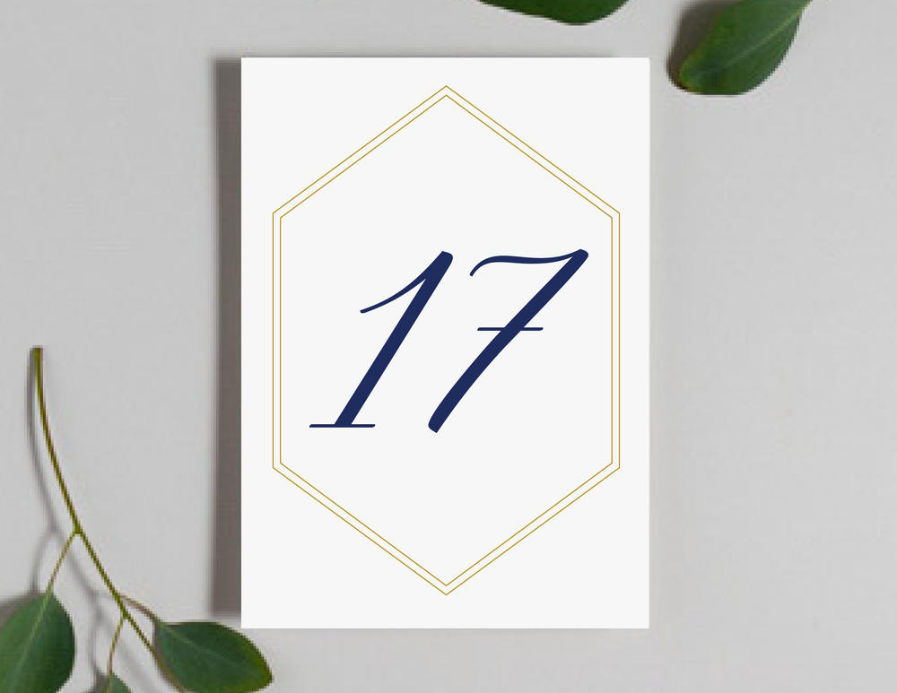Navy, Gold and Greenery Table Numbers by Just Jurf-01.png