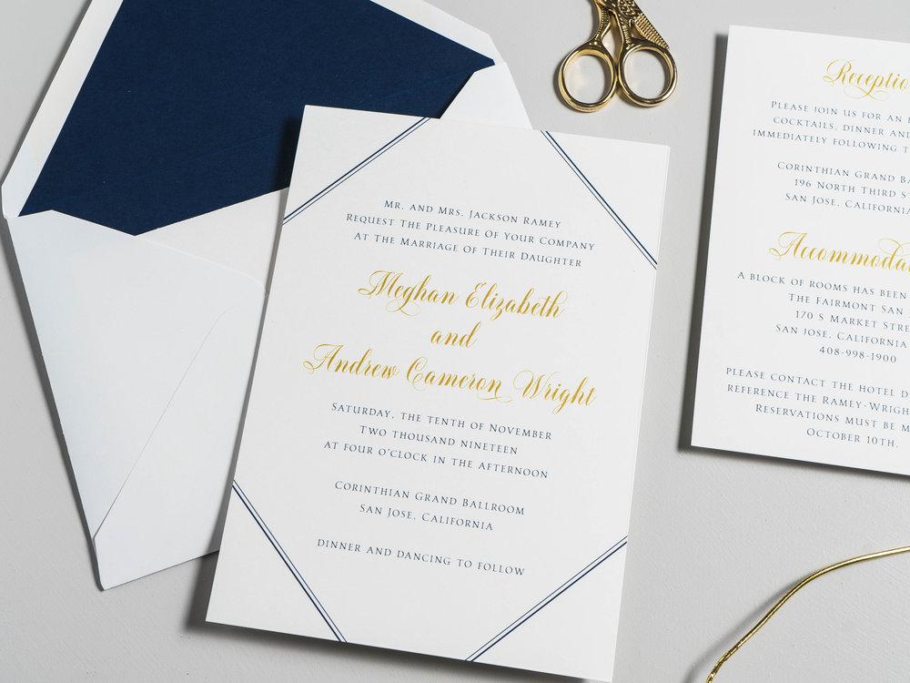 *Classic Navy & Gold Wedding Invitations by Just Jurf-23.jpg