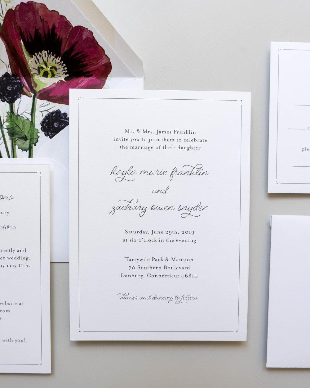 *Burgundy Poppy Wedding Invitations by Just Jurf-5.jpg
