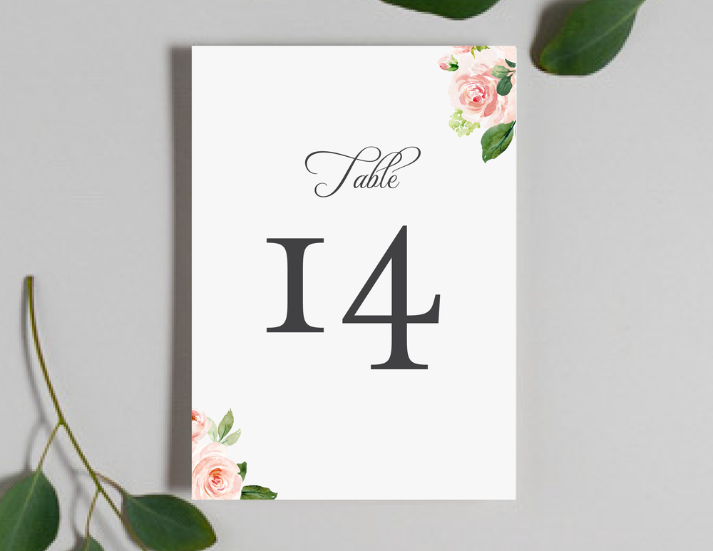 Pink Watercolor Floral Table Numbers by Just Jurf-01.png