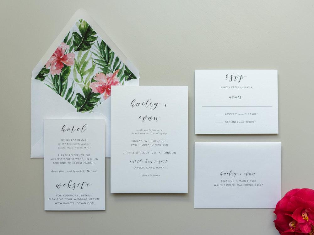 Tropical Floral Wedding Invitations by Just Jurf-1.jpg