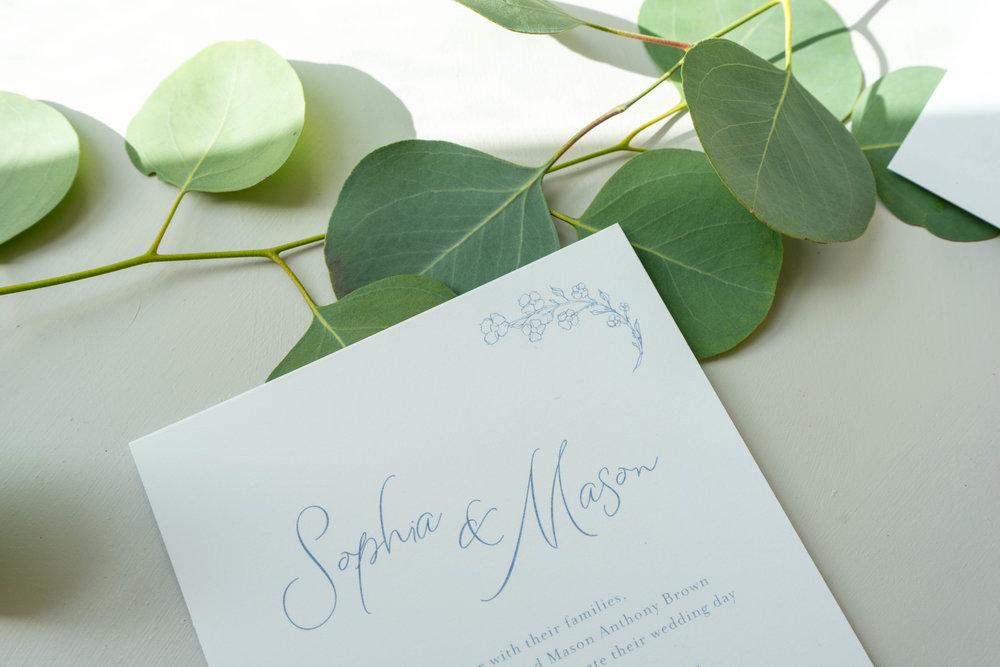 Dusty Blue Floral Wedding Invitation by Just Jurf-3.jpg