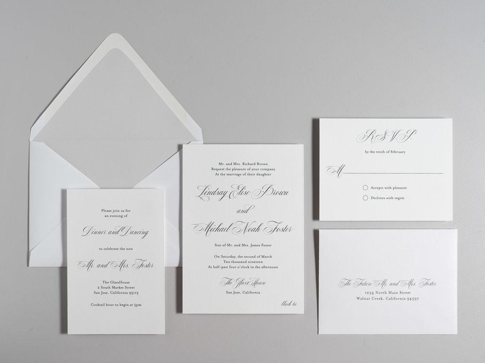 Elegant Script Wedding Invitations by Just Jurf-1.jpg