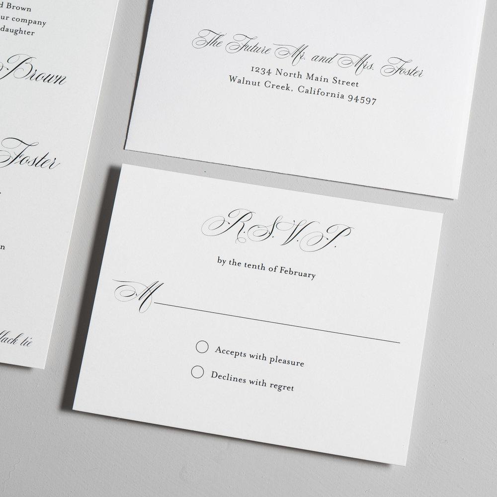 Elegant Script Wedding Invitations by Just Jurf-4.jpg
