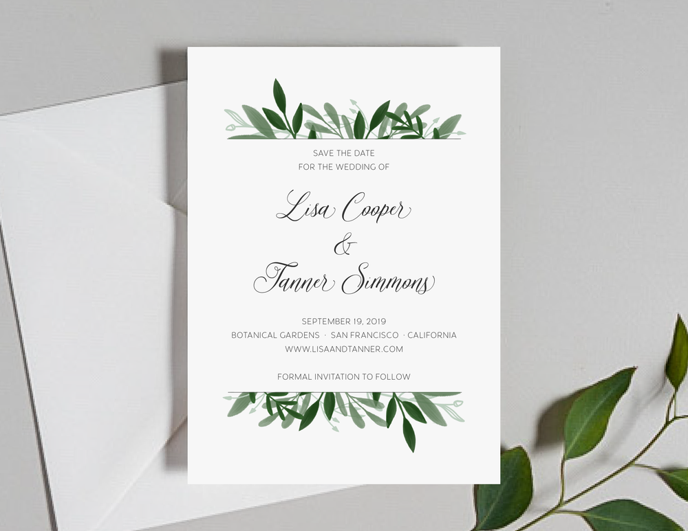 Elegant Greenery Save the Dates by Just Jurf-01.png