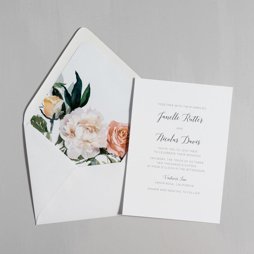 Simple Script Wedding Invitations by Just Jurf-5.jpg