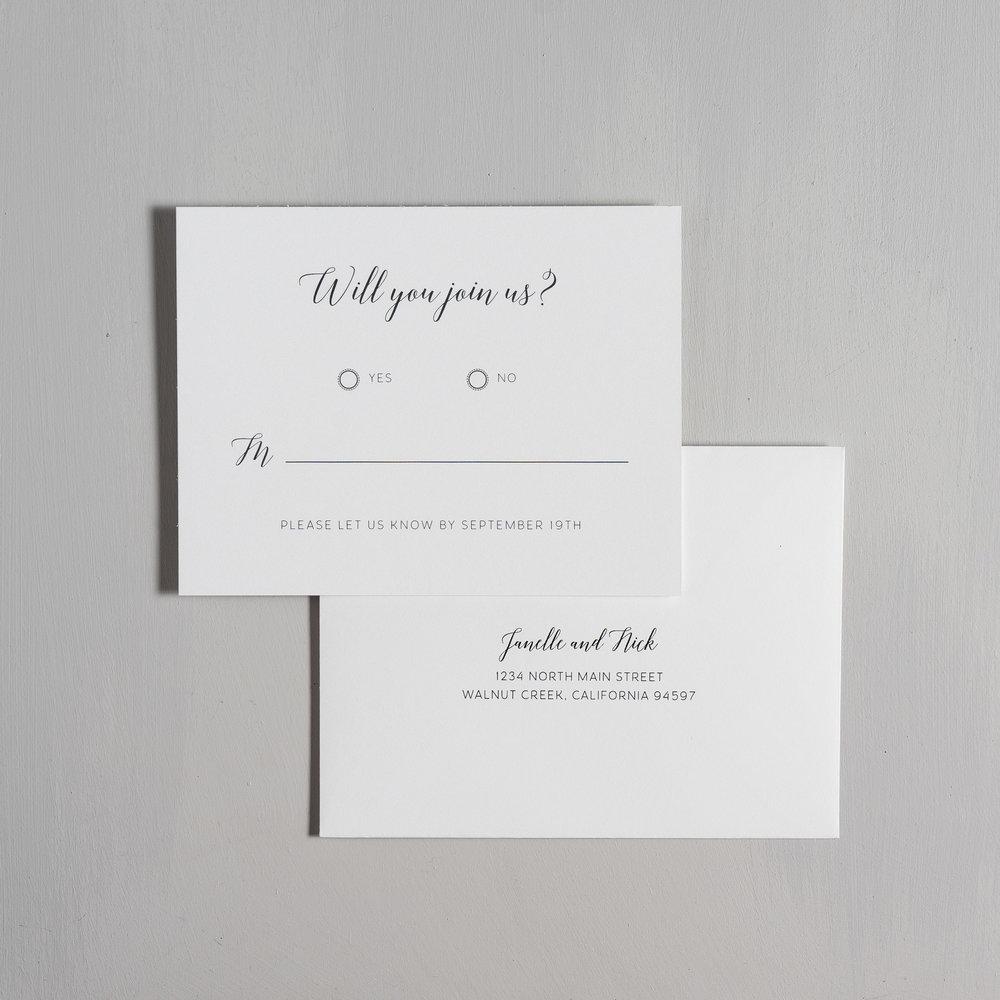 Simple Script Wedding Invitations by Just Jurf-6.jpg