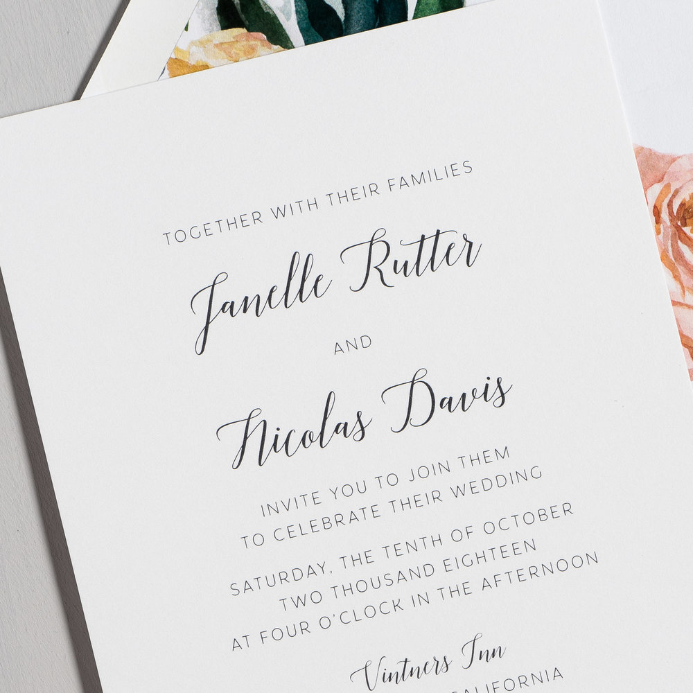 Simple Script Wedding Invitations by Just Jurf-8.jpg
