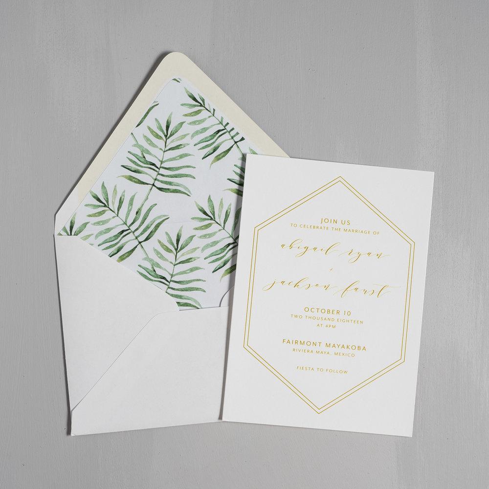 Hexagon Tropical Wedding Invitations by Just Jurf-5.jpg