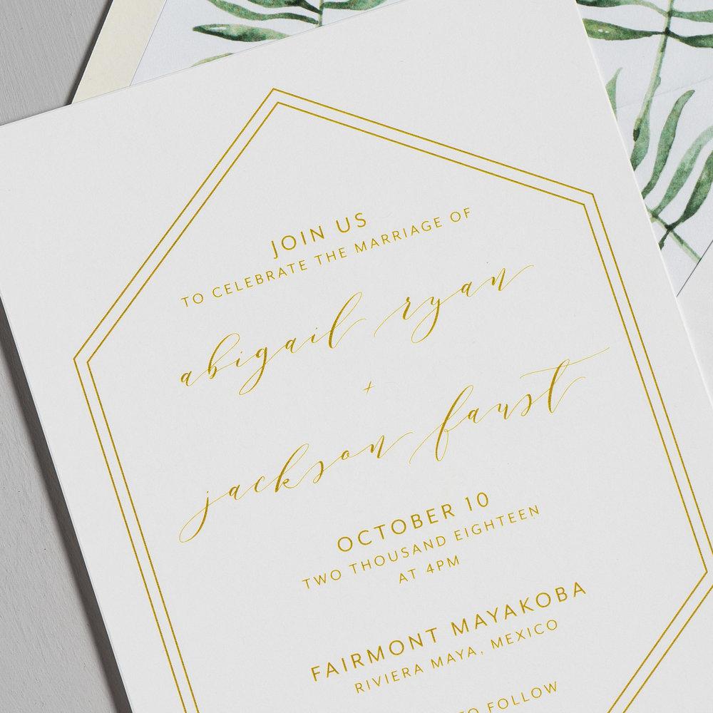 Hexagon Tropical Wedding Invitations by Just Jurf-8.jpg