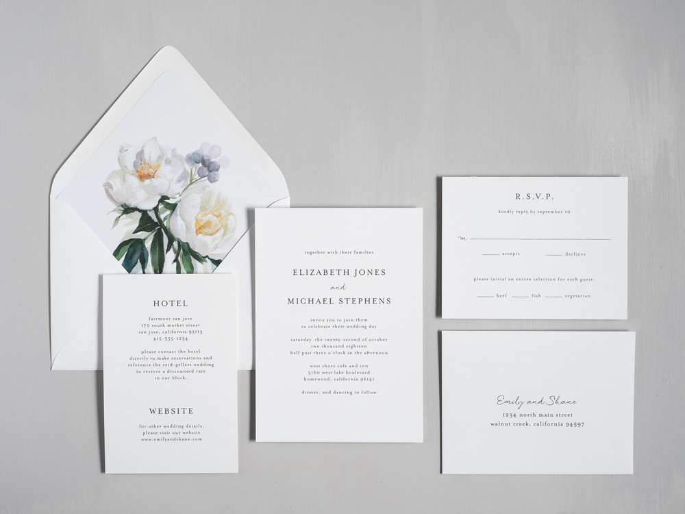 Botanical Minimalist Wedding Invitations by Just Jurf-1.jpg