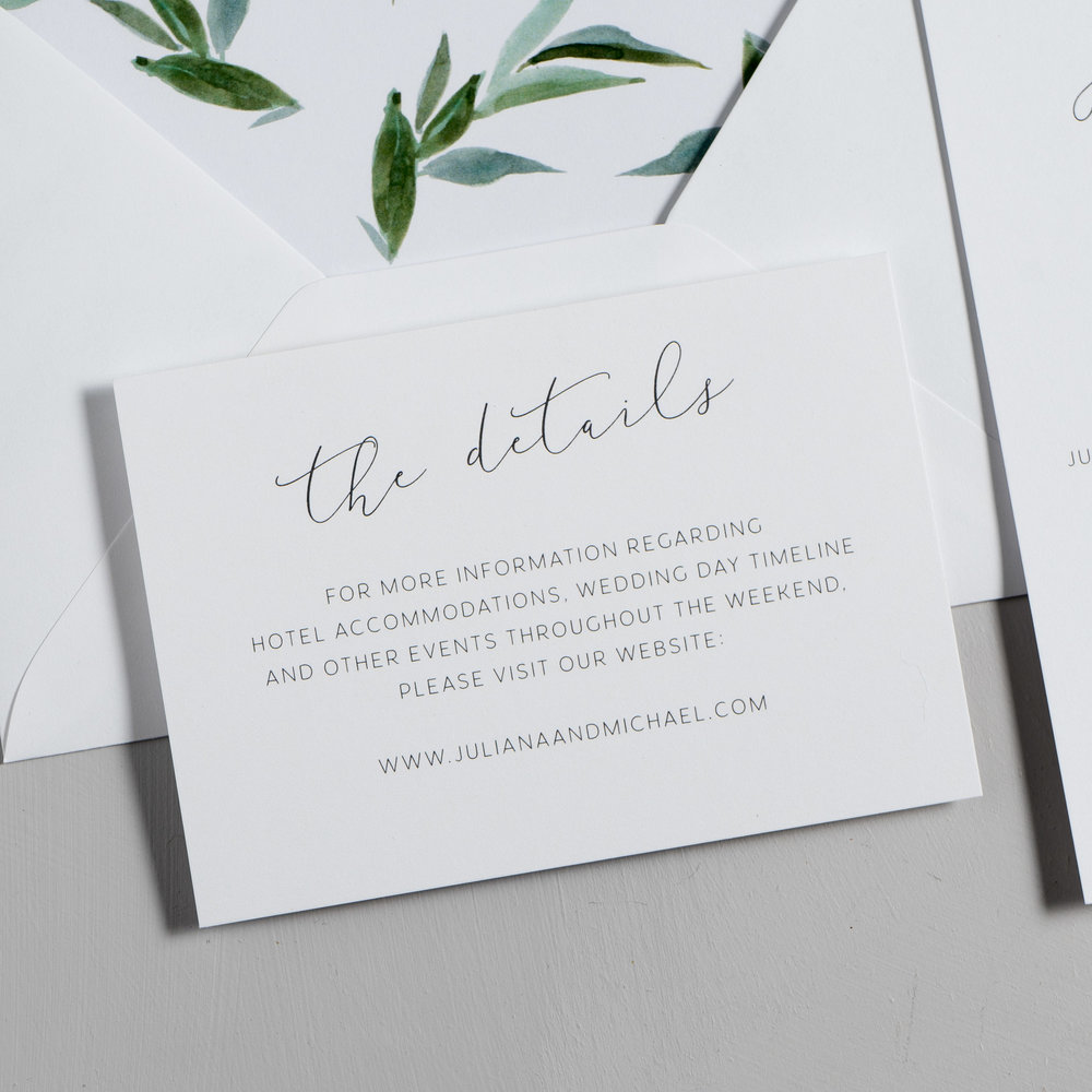 Modern Greenery Wedding Invitations by Just Jurf-3.jpg
