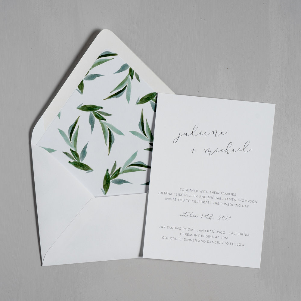 Modern Greenery Wedding Invitations by Just Jurf-5.jpg