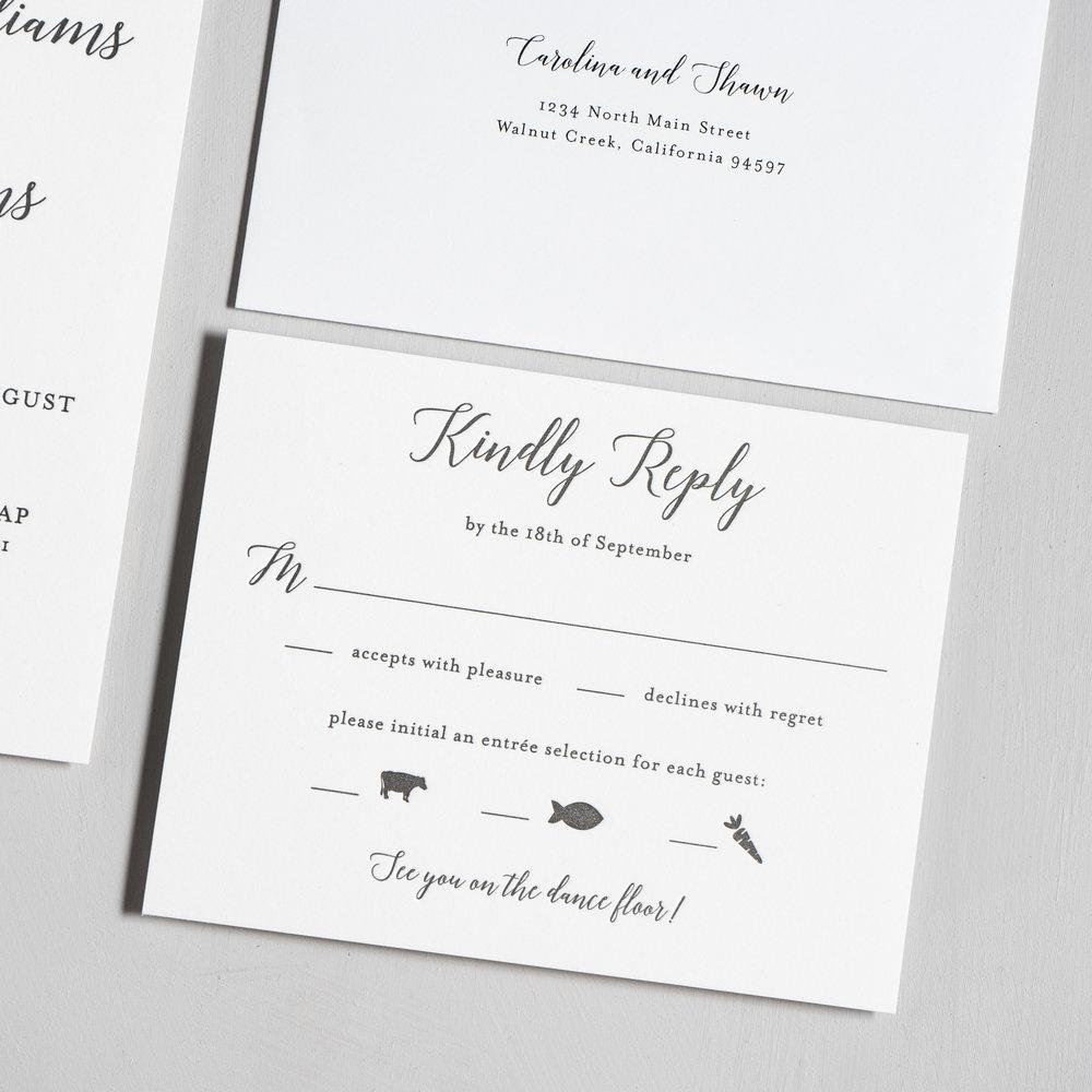 Elegant Calligraphy Letterpress Wedding Invitations by Just Jurf-4.jpg