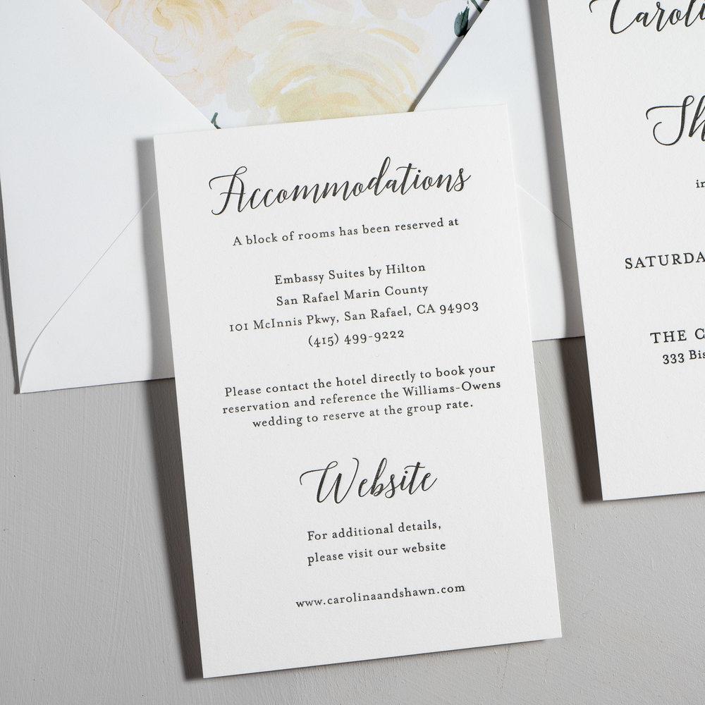 Elegant Calligraphy Letterpress Wedding Invitations by Just Jurf-3.jpg