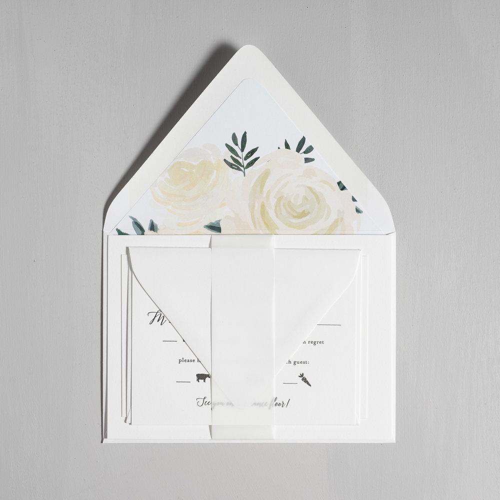 Elegant Calligraphy Letterpress Wedding Invitations by Just Jurf-10.jpg