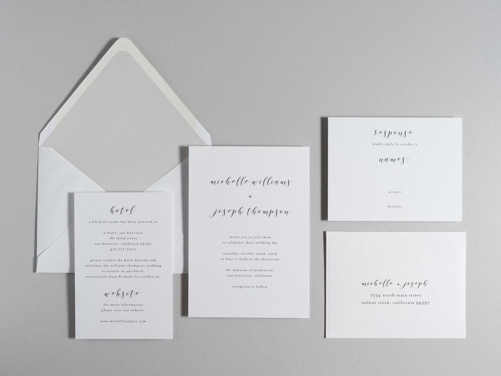 Delicate Minimalist Wedding Invitations by Just Jurf-1.jpg