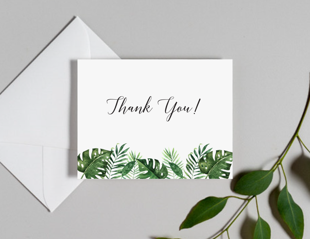 Tropical Greenery Palm Leaf Thank You Cards by Just Jurf-01.png