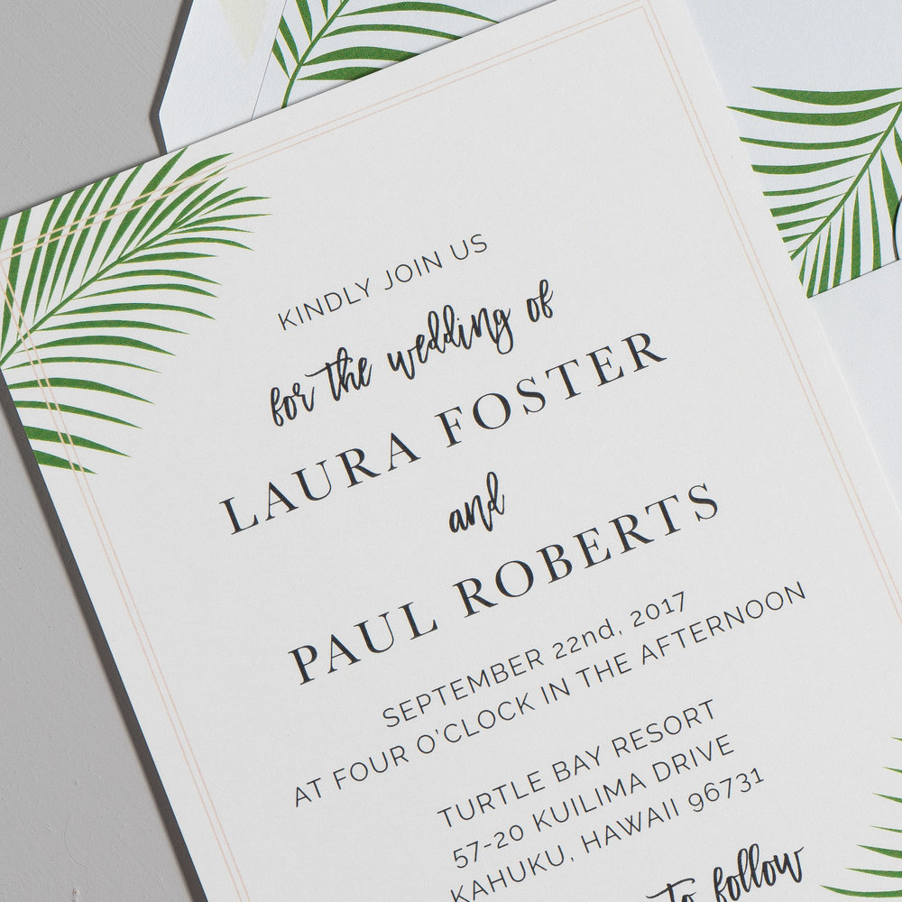 Soft Tropical Palm Leaf Wedding Invitations by Just Jurf-8.jpg