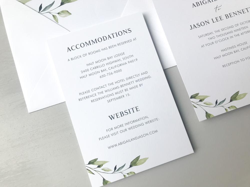Simple Greenery Wedding Invitation Suite by Just Jurf-3.jpg