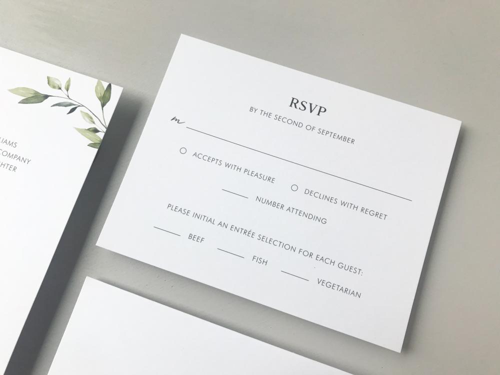 Simple Greenery Wedding Invitation Suite by Just Jurf-4.jpg