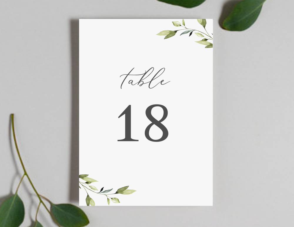 Romantic Greenery Table Numbers by Just Jurf-01.png