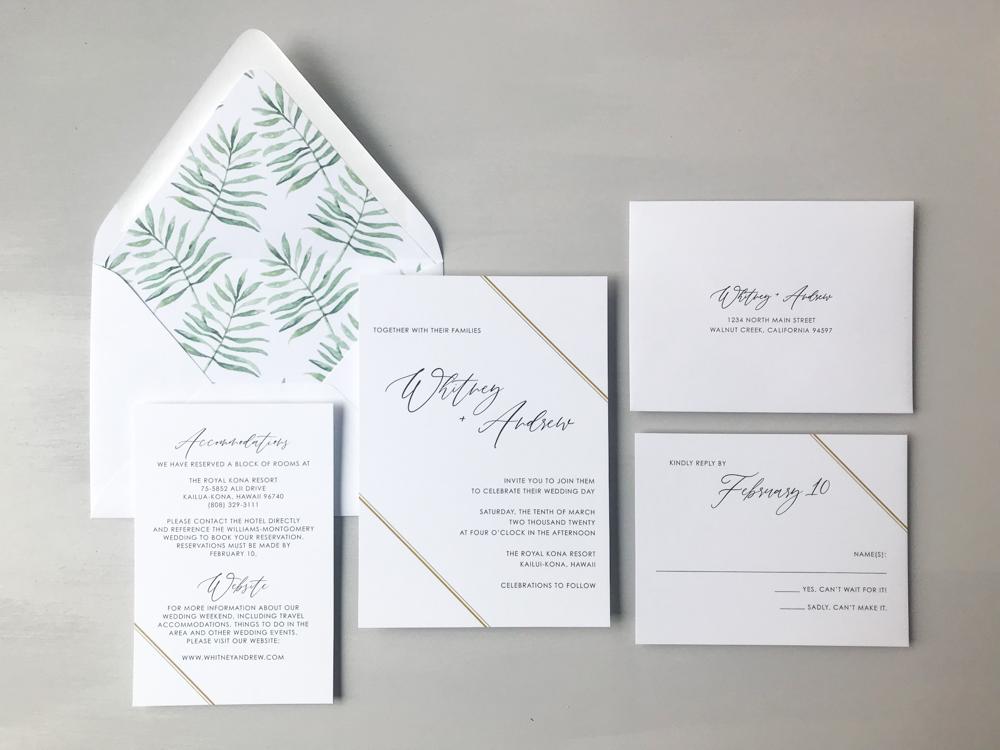 Tropical Palm Wedding Invitation Suite by Just Jurf.jpg