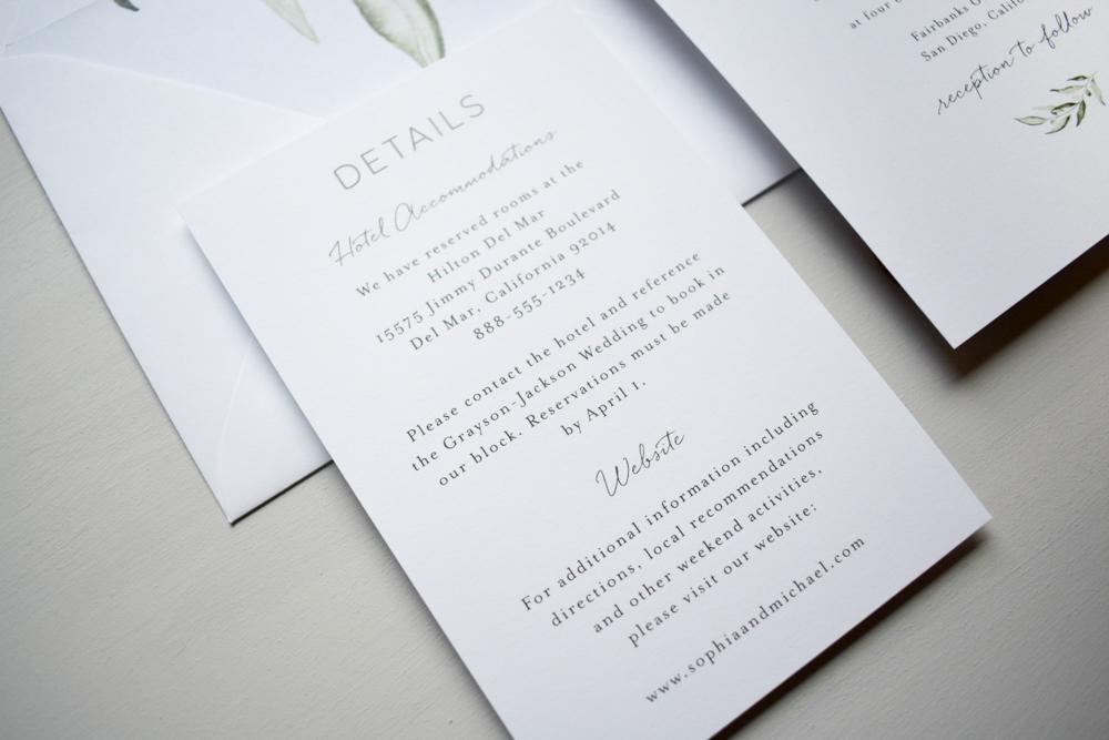 Greenery Minimalist V2 Wedding Invitation Suite by Just Jurf-3.jpg