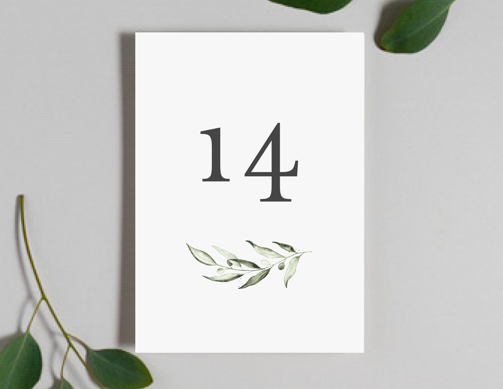 Greenery Minimalist V2 Table Numbers by Just Jurf-01.png