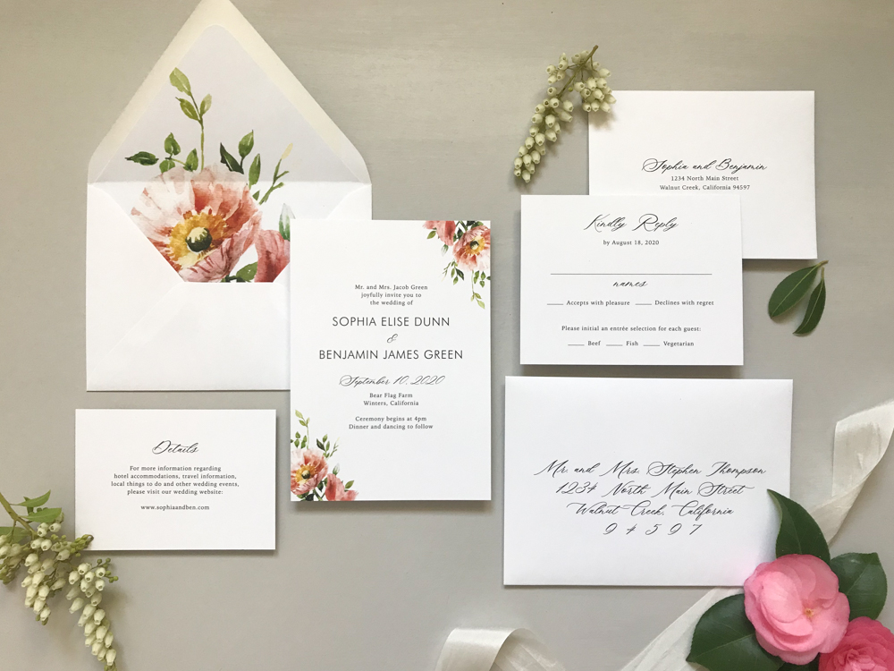 *Classic Floral Wedding Invitation Suite by Just Jurf-3.jpg