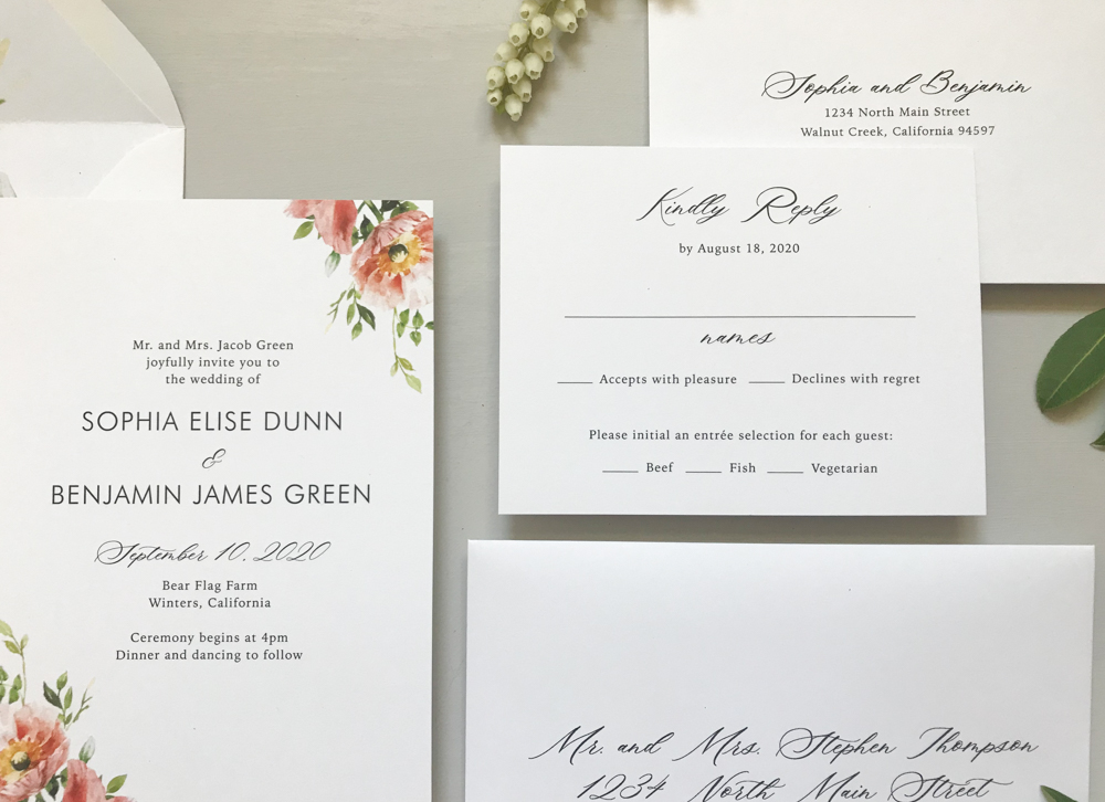 *Classic Floral Wedding Invitation Suite by Just Jurf-10.jpg
