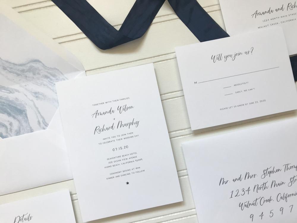 *Blue Marble Beach Wedding Invitation Suite by Just Jurf-2.jpg