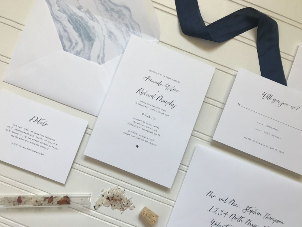 *Blue Marble Beach Wedding Invitation Suite by Just Jurf-3.jpg