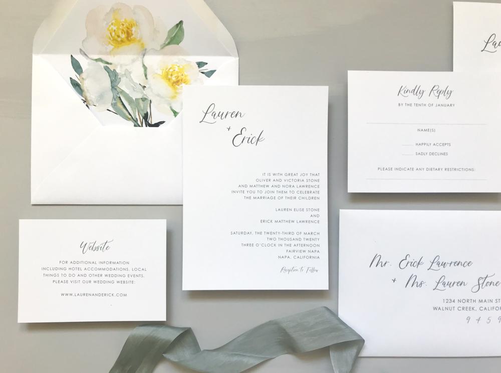 Asymmetrical Floral Wedding Invitation by Just Jurf-2.jpg