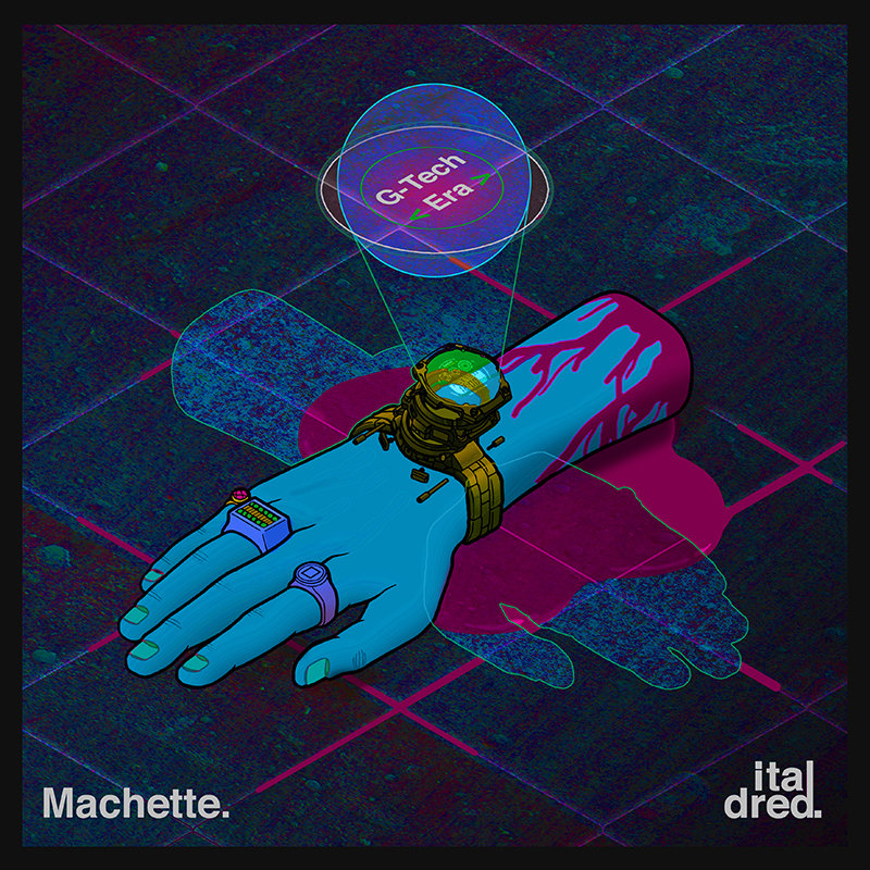 Machette - G-Tech Era (Artwork by Tom Handy)