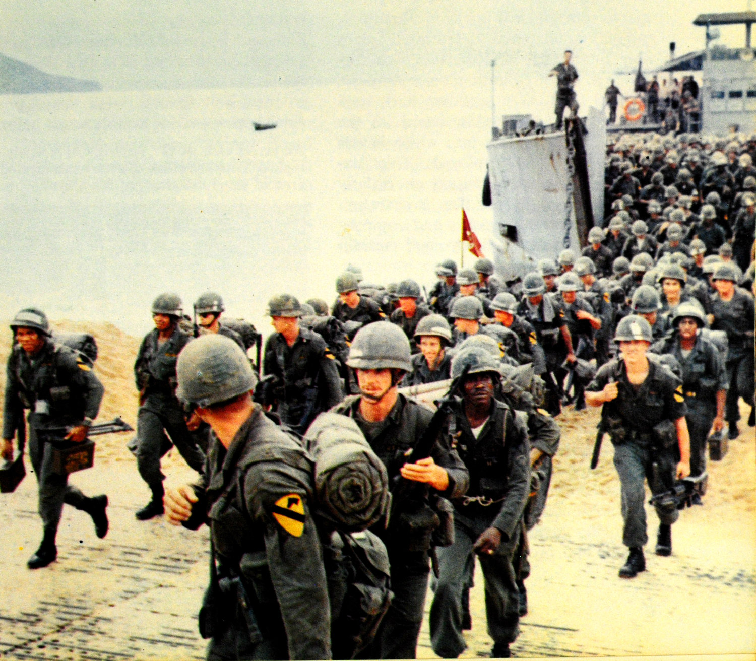 Image result for 1965 army units arrive vietnam