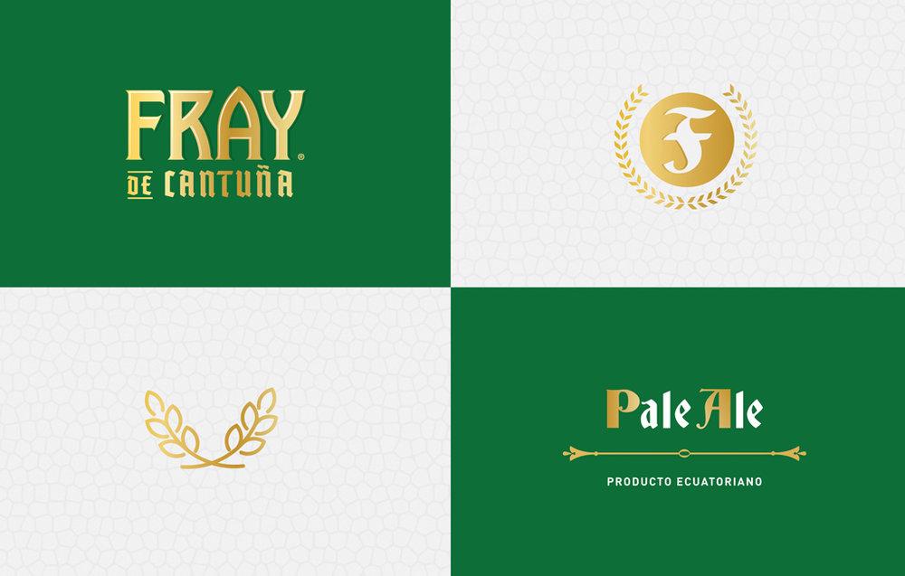 Logotipo y elementos gráficos de la etiqueta