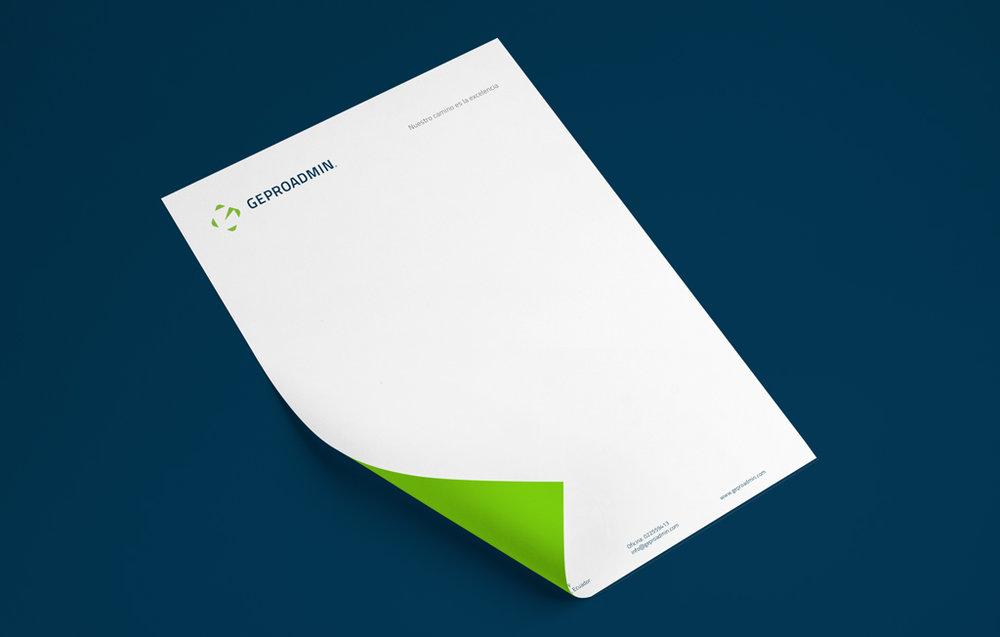 Corporate sheet