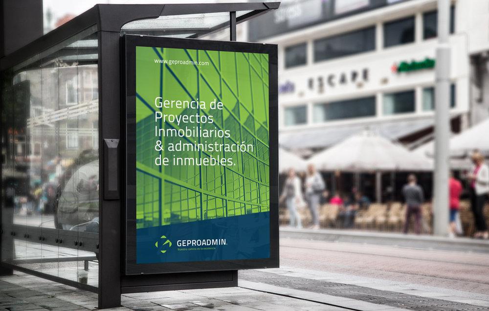 Aplicaciones de marca en espacios públicos