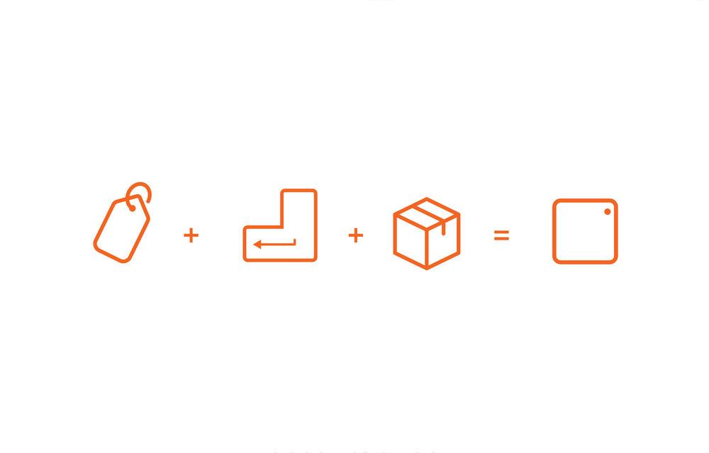 Conceptos sintetizados del logotipo