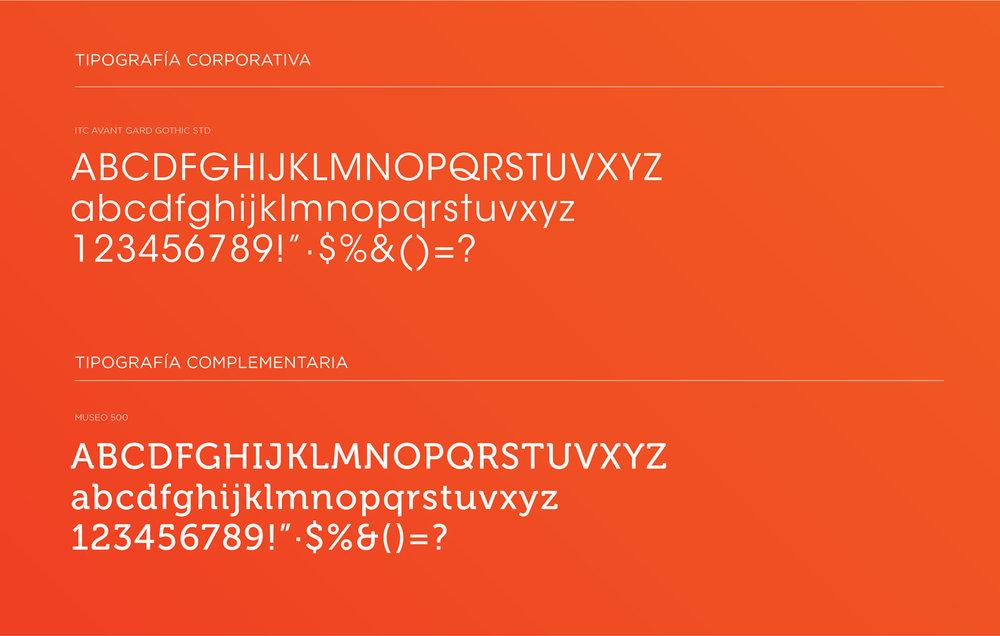 Tipografías corporativas