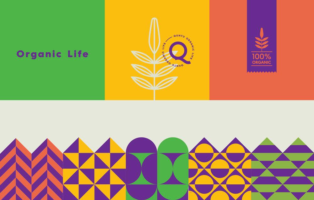 Elementos gráficos de marca