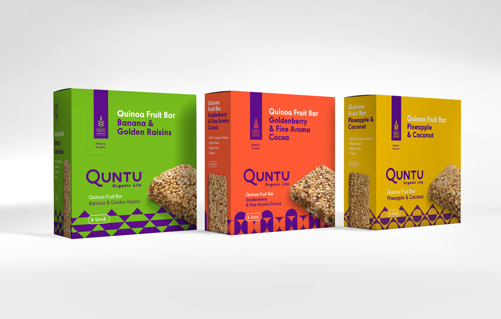 Quinoa bar packages