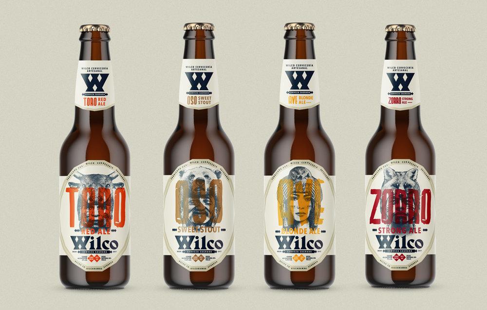 Línea de cervezas