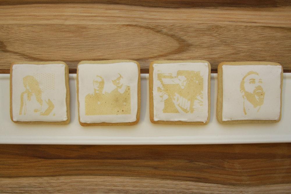 MakeLab's Edible Selfie Photo Booth on Cookies